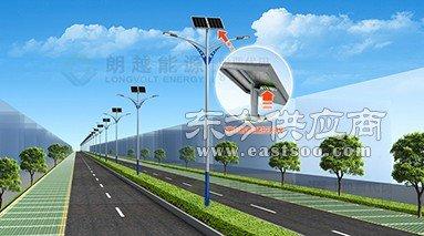 朗越能源市区用锂电太阳能路灯图片