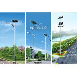朗越能源市内用太阳能路灯-锂电智能型太阳能双臂灯图片