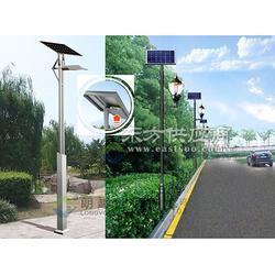 朗越能源锂电智能型太阳能庭院灯 照射角度大图片