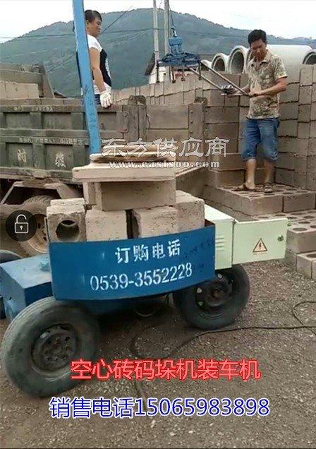 空心砖装车机码砖机设备图片