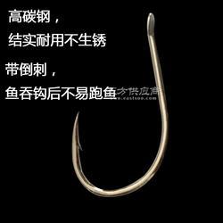 奥金千又带倒刺高碳钢海钓钓鱼钩CHINU图片