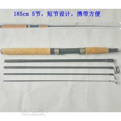 工厂直供 插节路亚竿1.85m 5短节 M调 直柄碳素渔竿图片