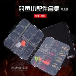 128件钓鱼小配件套装 路亚海钓矶钓套盒 22格豪华配件组合图片