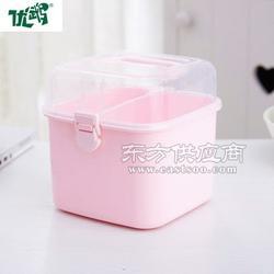 正方形多功能化妆品小件收纳盒图片