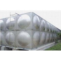 不锈钢圆形保温水箱-横泾方圆不锈钢水箱-上海水箱图片