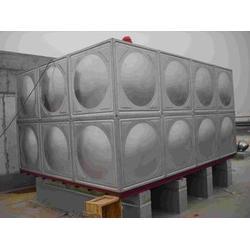 不锈钢圆柱水箱_横泾方圆不锈钢水箱_上海水箱图片