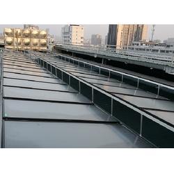 汉南太阳能热水器工程|  恒阳科技公司|宾馆太阳能热水器工程图片