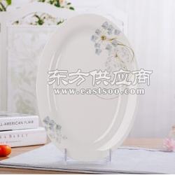 骨瓷餐具碗盘碟餐具套装28/56头陶瓷餐具礼品定制logo图片