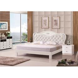 双人床的价钱,荆州双人床,天益家具款式经典时尚图片