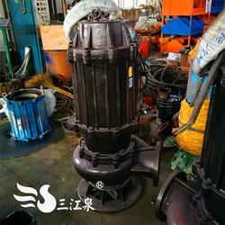 WQ无堵塞潜污泵直销 三帆泵业 宁夏WQ无堵塞潜污泵图片