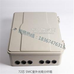 64芯分光分纤箱 SMC玻璃纤维-材料图片