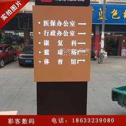 PVC指示牌、楼层指引牌、户外指示牌彩客图片