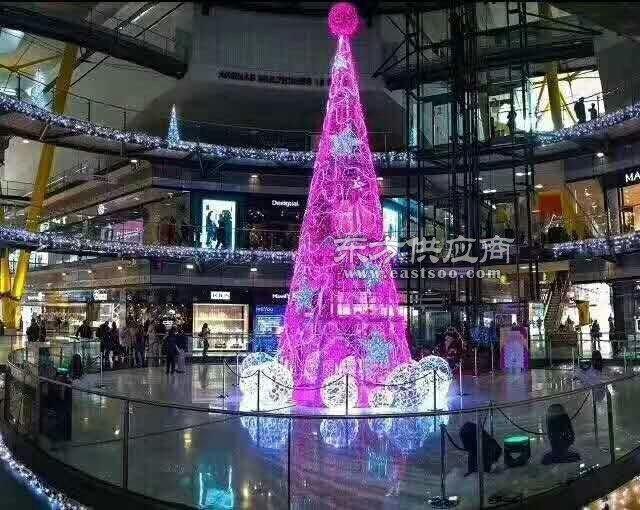 发光的圣诞树出租灯光节开始抢购了图片