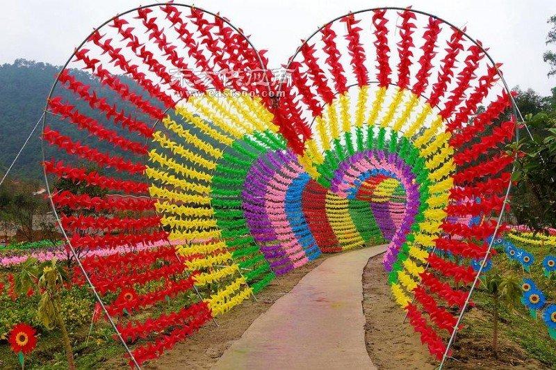 风车展览 风车设计 场地策划 风车出售图片