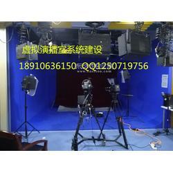 专业虚拟演播室系统灯光装修建设厂家图片