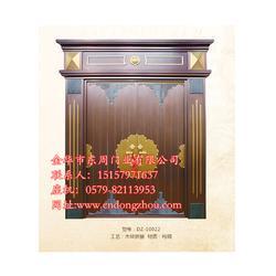 不锈钢铜门供货商 东周门业非凡大气 河北不锈钢铜门图片
