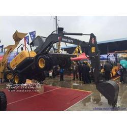 买挖掘机就来沃尔华DLS885-9M农用轮式挖掘机图片