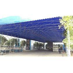 推拉式遮阳篷-推拉式遮阳篷生产商-陈明帆布(优质商家)图片