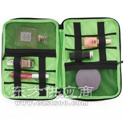 厂家供应 女士洗漱化妆包整理收纳包 多功能便携旅行收纳化妆包图片