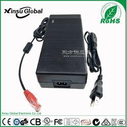 42V3A充电器 42V3A 美规FCC UL认证 42V3A锂电池充电器图片