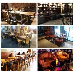 酒吧沙发酒吧桌椅设计定做图片