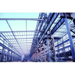 140平方米钢结构车棚,华韧钢结构恒久品质,钢结构图片