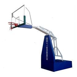 电动液压篮球架,飞人体育设施(在线咨询),丽水篮球架图片