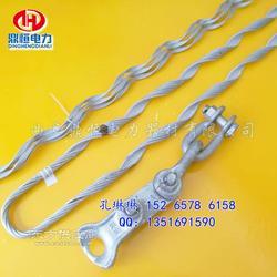 adss/opgw光缆预绞丝耐张线夹安装方法图片