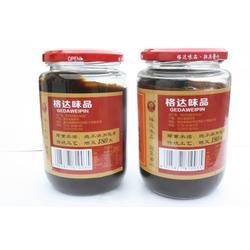 湖南辣椒酱_荆沙辣椒酱专卖店_格达味品荆沙辣椒酱优质品牌图片