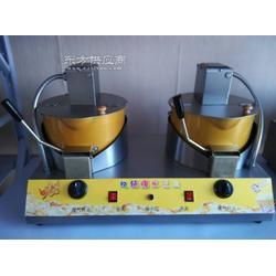电动上搅拌双锅爆米花机图片