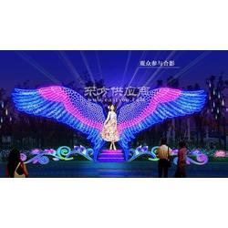 led灯光节玫瑰花海供应灯光秀出租租赁图片