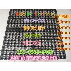 车库顶板塑料夹层板_方块状蓄排水板厂家图片