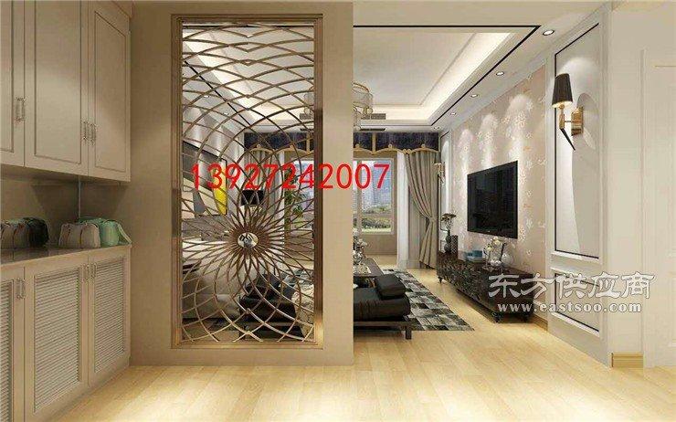 餐厅不锈钢屏风装饰设计图片