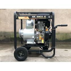 诺克6寸柴油自吸水泵豪华款便携式建筑工业抽水机图片