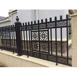 庭院铝艺护栏厂家定做-旭升前程(在线咨询)迪庆铝艺护栏图片