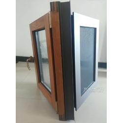 贝科利尔110系列铝包木内开外带金钢网高端定制系统门窗图片