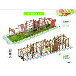 山东户外木制拓展供应商、源涛玩具定做、户外木制拓展图片
