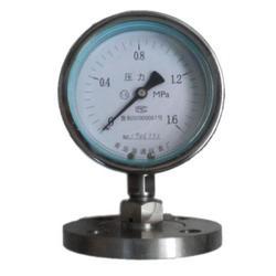 耐酸碱隔膜压力表 淄博广景化工 隔膜压力表图片