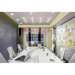 办公室装修设计|光谷步行街办公室装修|鑫撼翔图片