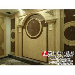丽水木饰面-瑞木家具有口皆碑-木饰面墙面图片