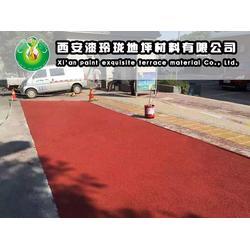 天水彩色防滑路面、彩色防滑路面、漆玲珑地坪漆图片