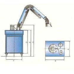 苍山焊烟净化器,集中式焊烟净化器,兆星环保喷涂废气治理图片