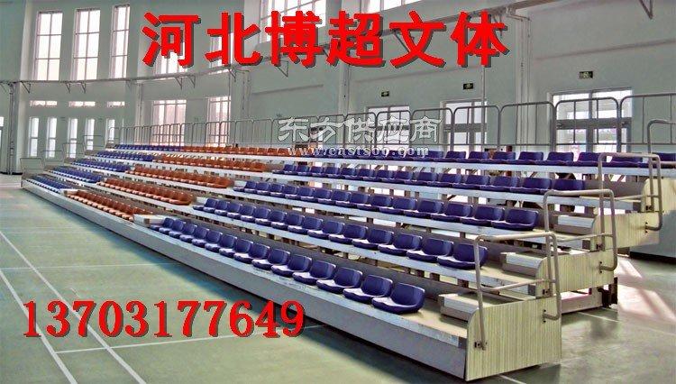 新型伸缩看台座椅生产厂家图片