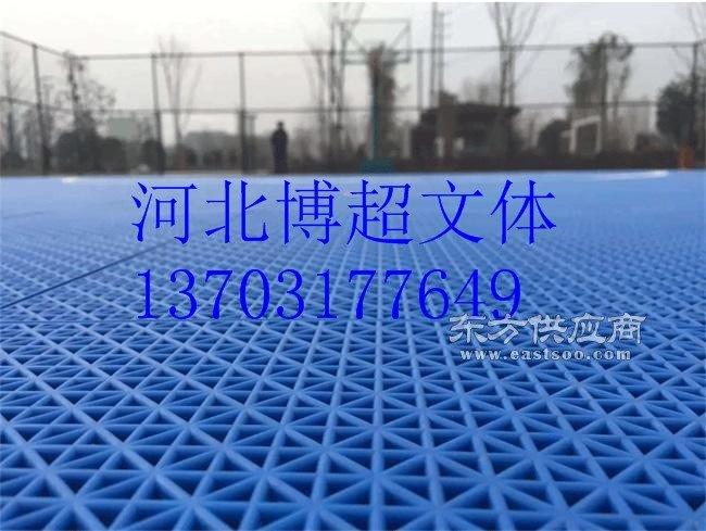 排球场悬浮地板生产厂家图片