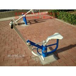 新标准双人健骑机生产厂家图片