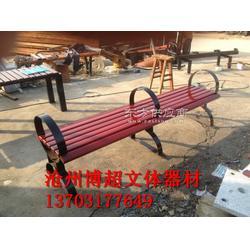 塑木休闲长凳生产厂家图片