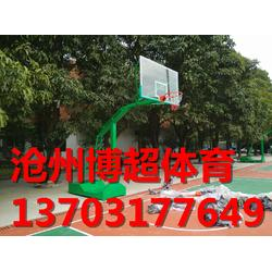 手摇升降式篮球架生产厂家图片