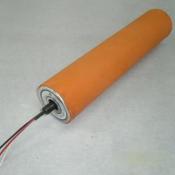 定做包膠電動滾筒 橡膠電動輥筒 交流單相220V聚氨酯滾筒圖片