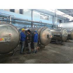 西藏羊肉汤电加热高温杀菌锅热销、诸城雅辰机械(图)图片
