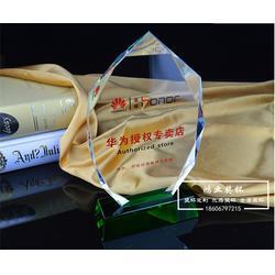 浦江水晶奖杯 鸿业奖杯可单个发货 奖杯图片